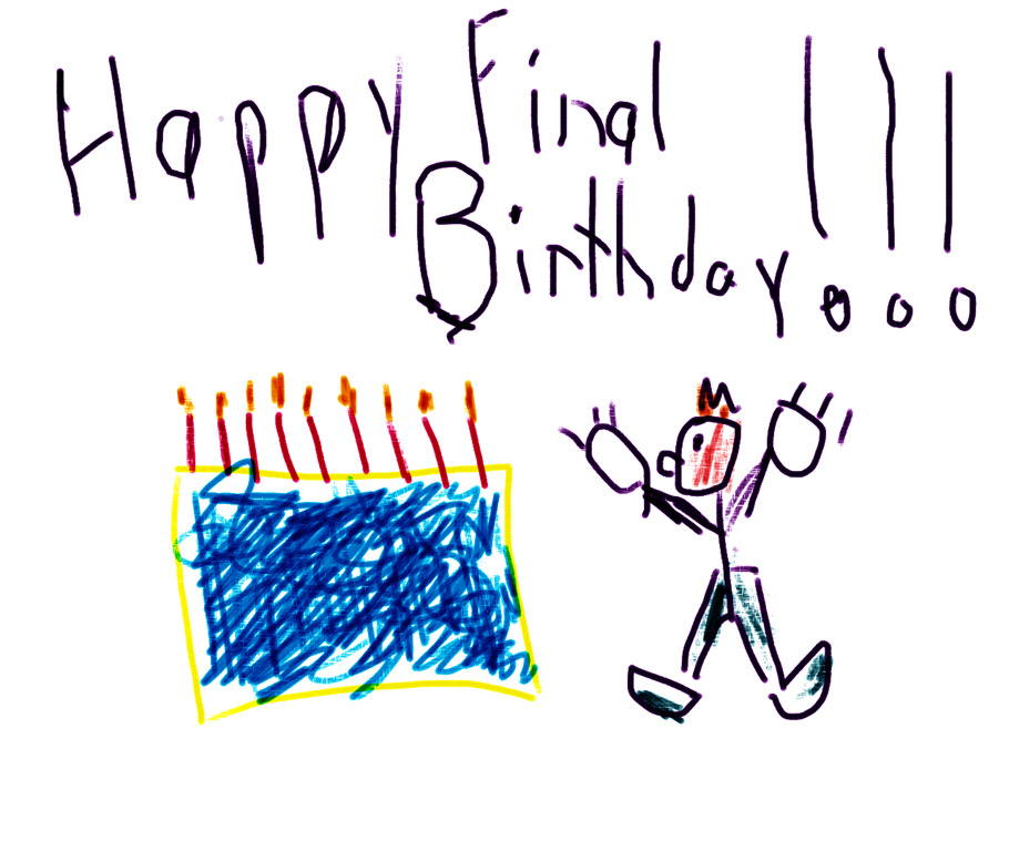 Happy Final Birthday