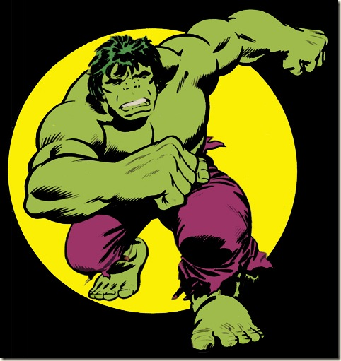 Old School Hulk Logo